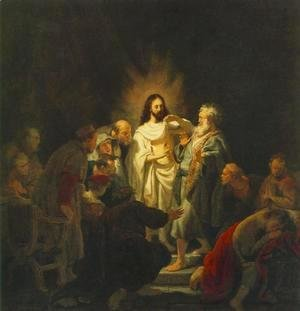 Rembrandt - The Incredulity of St Thomas 1634