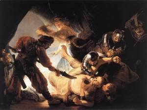 Rembrandt - The Blinding of Samson 1636