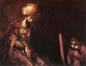 Rembrandt - Saul and David 1655-60