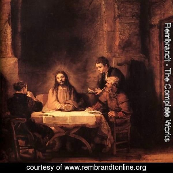 Rembrandt - Supper at Emmaus 1648