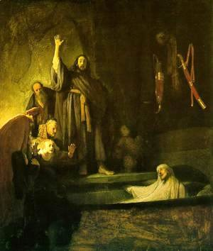 Rembrandt - The Raising of Lazarus c. 1630