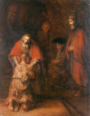 Rembrandt - The Return of the Prodigal Son c. 1669