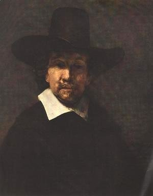 Rembrandt - Portrait of Jeremiah Becker 1666