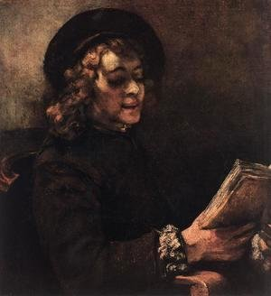 Rembrandt - Titus Reading 1656
