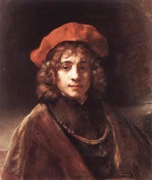 Rembrandt - The Artist's Son Titus c. 1657