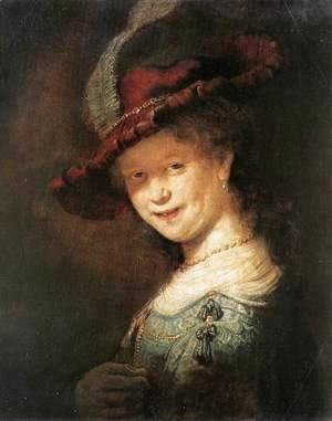 Rembrandt - Portrait of the Young Saskia 1633