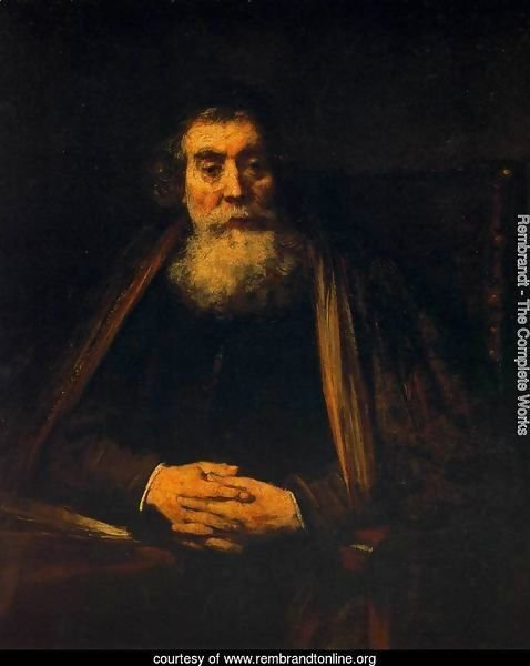 Portrait of an Old Man 1665