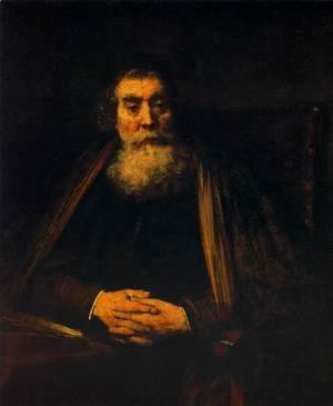 Rembrandt - Portrait of an Old Man 1665