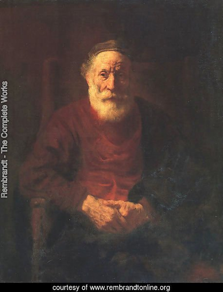 Portrait of an Old Man in Red 1652-54