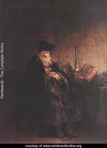 Old Rabbi 1642