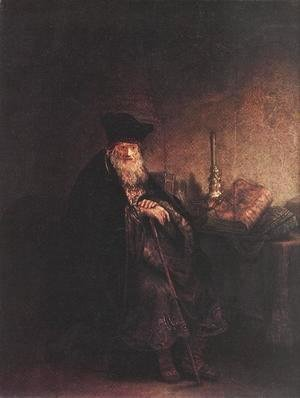 Rembrandt - Old Rabbi 1642