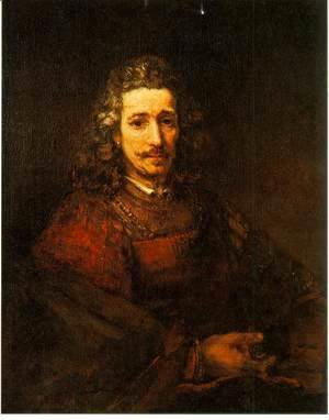 Rembrandt - Man with a Magnifying Glass