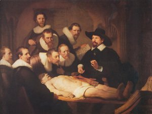 The Anatomy Lecture of Dr. Nicolaes Tulp 1632