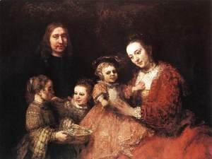 Rembrandt - Family Group 1666-68