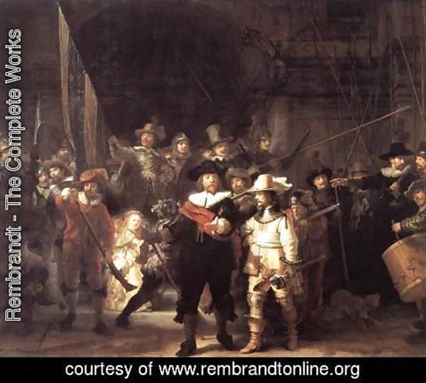 Rembrandt - The Nightwatch 1642