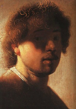 Rembrandt - Self-Portrait 1627