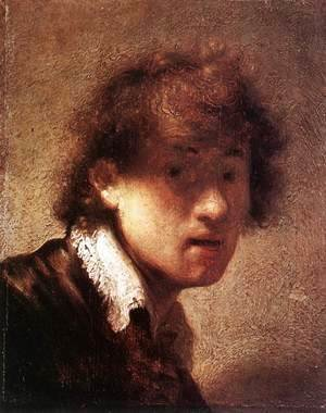Rembrandt - Self-Portrait (2) 1629