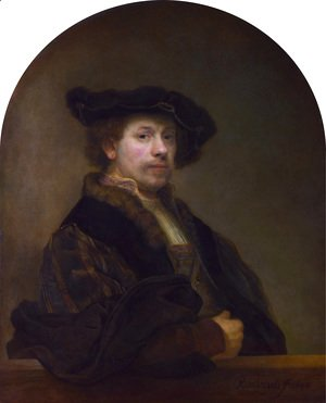Rembrandt - Self-portrait 1640