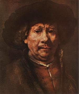 Rembrandt - Little Self-portrait 1656-58