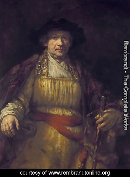 Rembrandt - Self-Portrait 1658