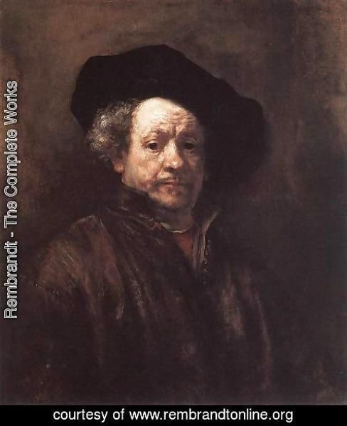 Rembrandt - Self-Portrait 1660