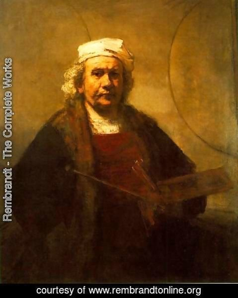 Rembrandt - Self-Portrait 1661