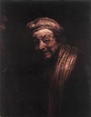 Rembrandt - Self-Portrait 1668-69