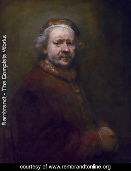 Rembrandt - Self-Portrait (2) 1669