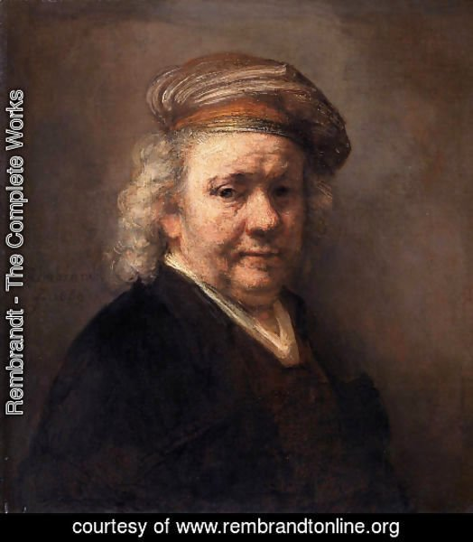 Rembrandt - Self-Portrait (1) 1669