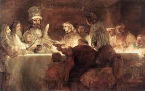 Rembrandt - The Conspiration of the Bataves 1661-62