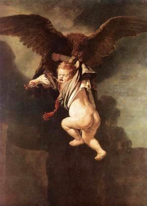 Rape of Ganymede 1635