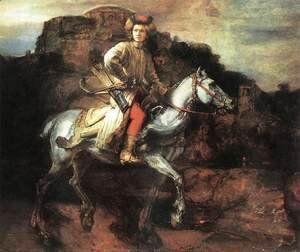 Rembrandt - The Polish Rider 1655