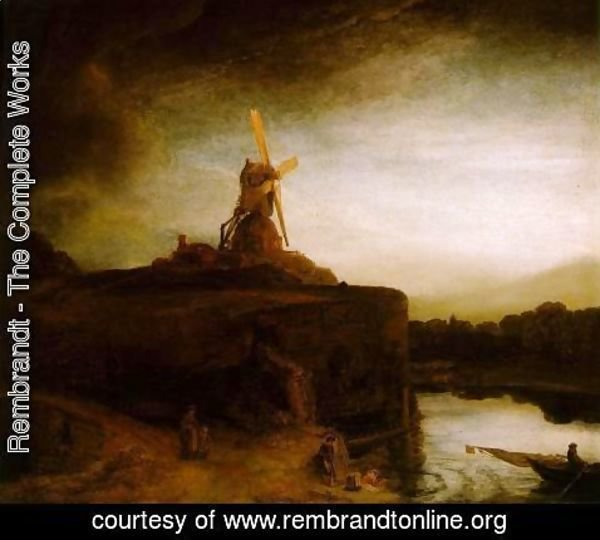 Rembrandt - The Mill c. 1650