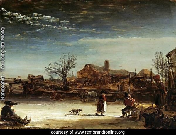 Winter Landscape 1646