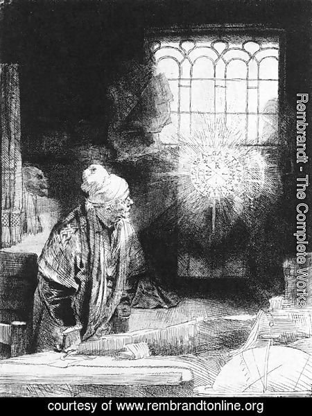 Rembrandt - Faust 1650-52