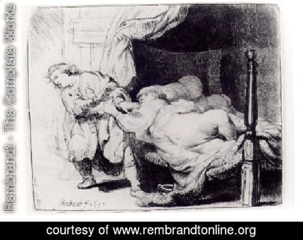 Rembrandt - Joseph and Potiphar's Wife 1634
