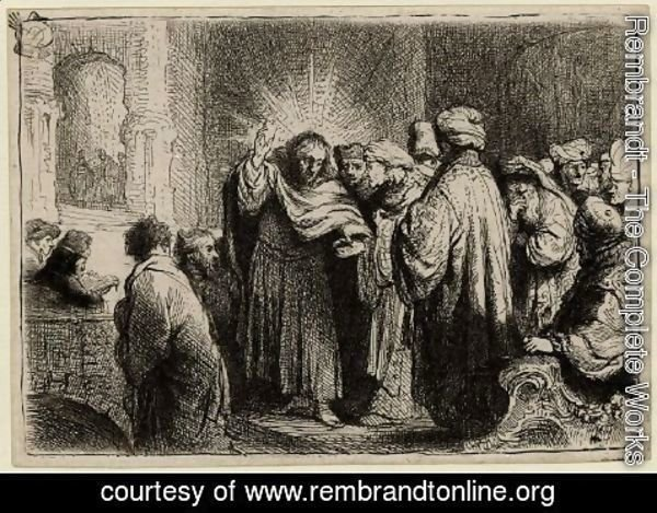 Rembrandt - The Tribute Money