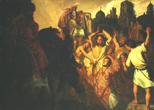 Rembrandt - Stoning of St. Stephen