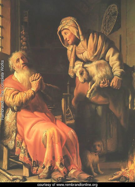 Anna Accused by Tobit of Stealing the Kid