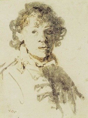 Rembrandt - Self-Portrait