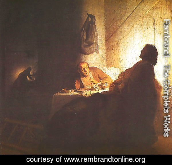 Rembrandt - Christ at Emmaus