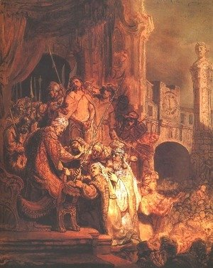 Rembrandt - Christ Before Pilate and the People